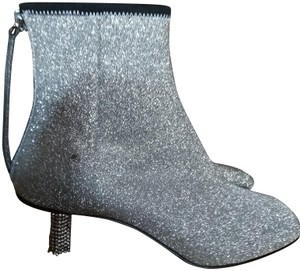 Calvin Klein 205W39NYC Silver Boots