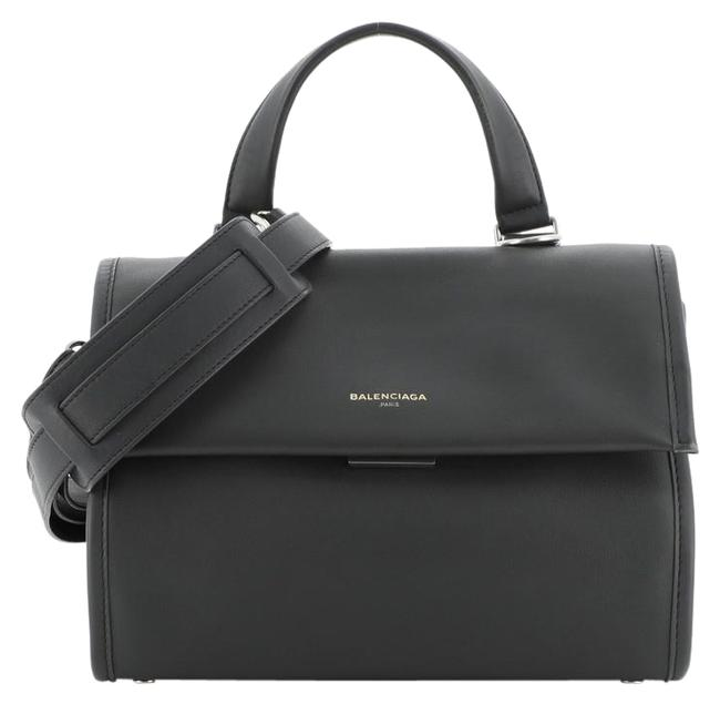 Item - Tools Satchel Small Gray Leather Tote
