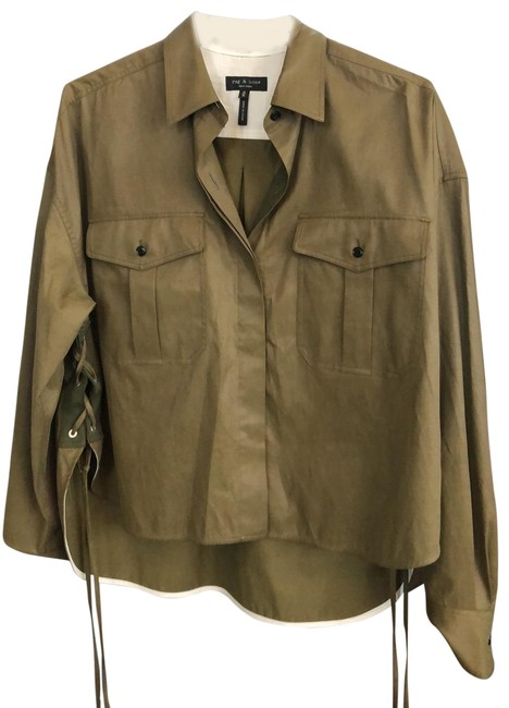 Item - Army Green 106879 Blouse Size 10 (M)