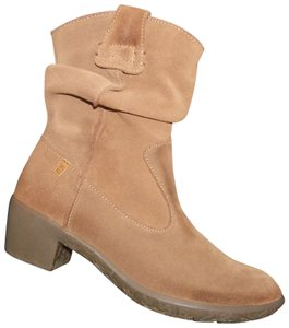 El Naturalista Suede Leather Winter BROWN Boots