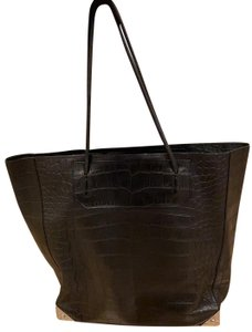 Alexander Wang Tote in Black with silver hardware