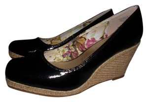 AK Anne Klein BLACK Wedges
