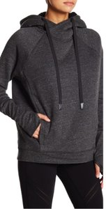 Alo Frost Faux Shearling Lined Hoodie Oversized Pull Over Sweatshirt