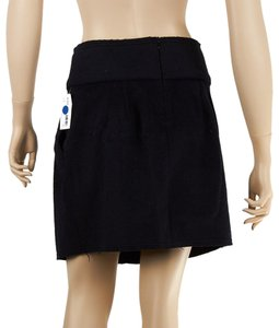 Amour Vert Mini Cotton Mini Skirt Blue