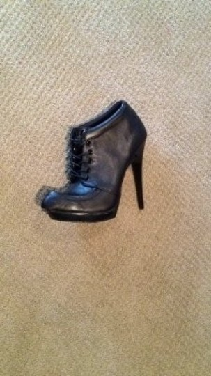 ASOS 5.5 Inch Spiked Heels..distressed Sole Never Worn Black Boots
