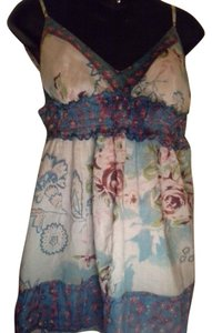 Magazine Floral Flowy Top multi-color