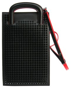Christian Louboutin Satchel in Black / Red