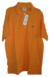 Lacoste T Shirt Orange Tangerine