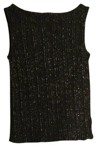 Lauren Ralph Lauren Top Black & Gold