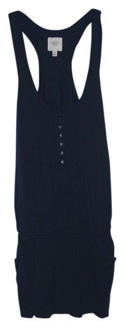 Abercrombie & Fitch short dress Navy Af Buttons Ruffles Racerback Racer-back on Tradesy
