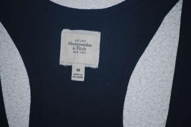 Abercrombie & Fitch short dress Navy Buttons Ruffles Racerback Racer-back on Tradesy