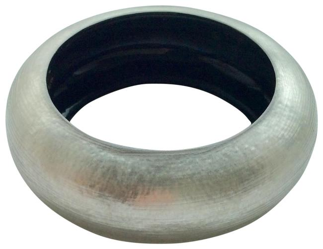 Item - Silvery Grey Lucite Bangle Bracelet