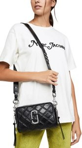Marc Jacobs Quilted Camera Double Zip Shoulder Bag