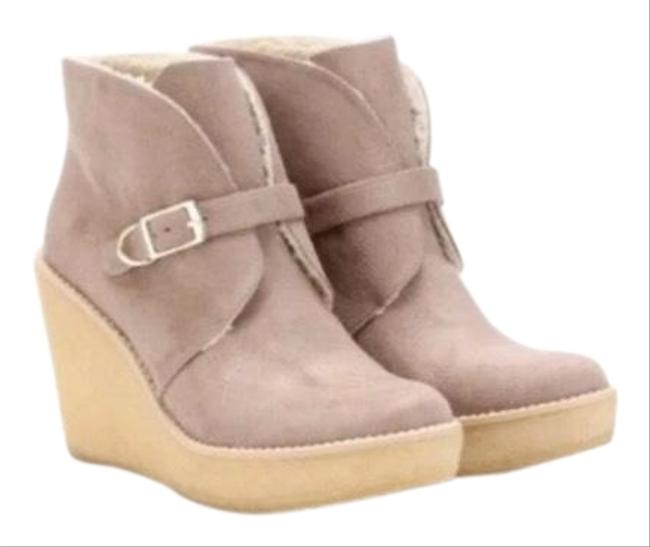 Item - Sand Kickapoo Wedge Ankle Boots/Booties Size EU 40 (Approx. US 10) Regular (M, B)