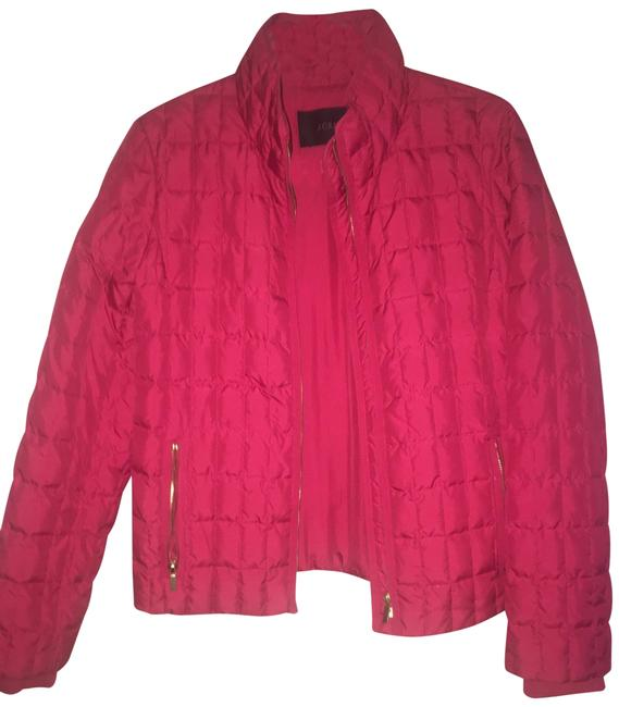 Item - Red Quilted Jacket Size 8 (M)