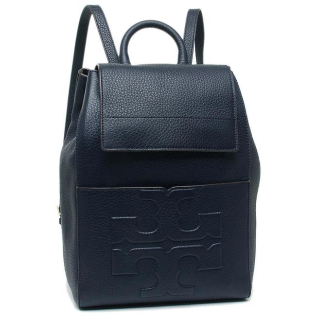Item - Bombe T 48305 Blue Leather Backpack