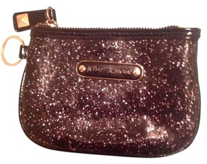 Betsey Johnson Black and Silver Clutch