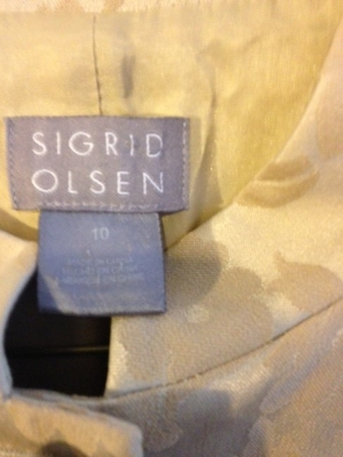 Sigrid Olsen Dress Tapestry Pattern Coat