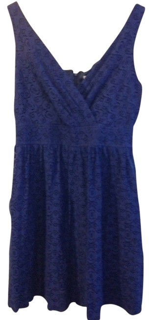 Preload https://item1.tradesy.com/images/robbie-bee-blue-above-knee-short-casual-dress-size-12-l-2671240-0-0.jpg?width=400&height=650