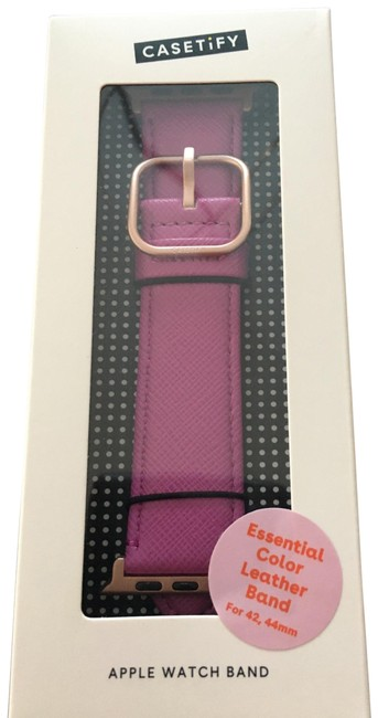 Item - Very Berry Essential Color Collection Apple Watch Band 42/44mm Tech Accessory
