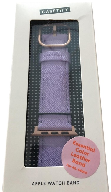 Casetify Lavender Essential Color Collection Apple Watch Band 42/44mm Tech Accessory Casetify Lavender Essential Color Collection Apple Watch Band 42/44mm Tech Accessory Image 1