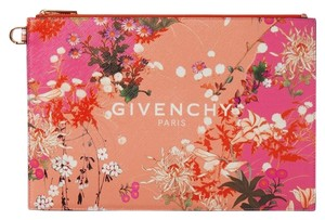 Givenchy Pouch Leather Clutch