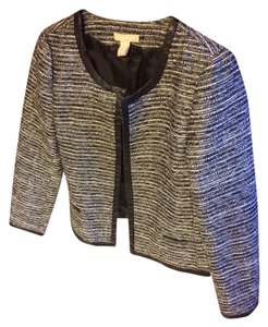 Banana Republic Black/white Blazer