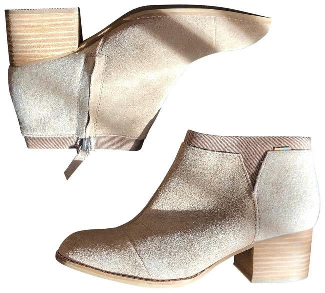 Item - Cream Nude Light Brown Tan Suede Loren Ankle Boots/Booties Size US 7 Regular (M, B)