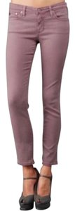 AG Adriano Goldschmied Ankle Midrise Skinny Jeans-Medium Wash