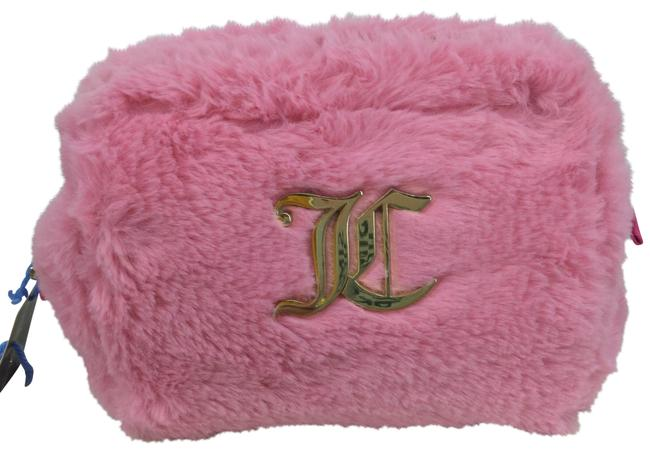 Item - Pink Faux Fur Cosmetic Bag
