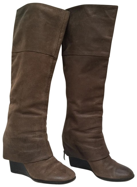 Item - Brown Abril Boots/Booties Size US 7.5 Regular (M, B)