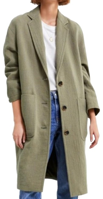 Item - Green Oversized with Pockets 2183/664 Coat Size 12 (L)
