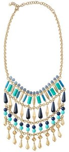 Stella & Dot Malta Bib Statement Necklace