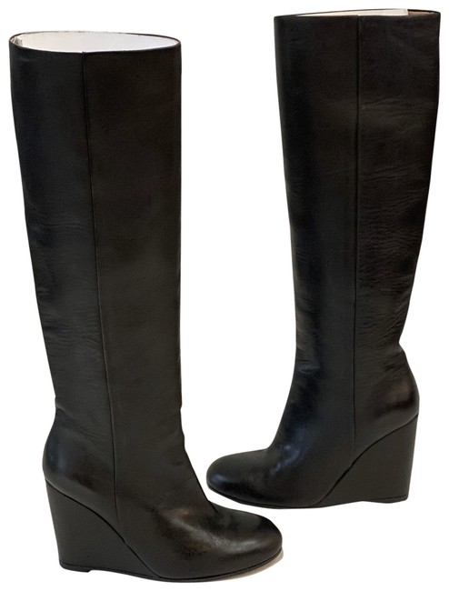 Item - Black Wedge Boots/Booties Size EU 35.5 (Approx. US 5.5) Regular (M, B)