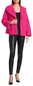 Alice + Olivia Alice+olivia Faux Gucci Quilted Lining Fur Coat