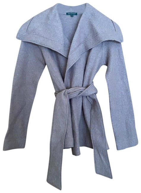Preload https://img-static.tradesy.com/item/26716566/for-cynthia-gray-boiled-wool-belted-coat-cardigan-size-4-s-0-1-650-650.jpg