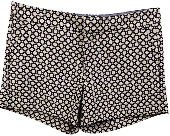Item - Navy and Gray New Geometric Print 8 Shorts Size 6 (S, 28)