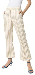 Rosie Assoulin Trouser Pants off white natural gold