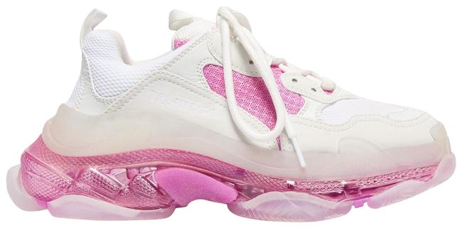 Item - White Pink Triple Sneakers Size EU 39 (Approx. US 9) Regular (M, B)