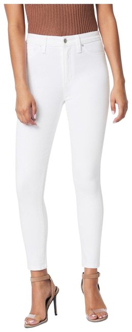 Item - White High Rise Ankle Skinny Jeans Size 00 (XXS, 24)