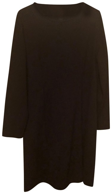J.Crew Black Mid-length Work/Office Dress Size 12 (L) J.Crew Black Mid-length Work/Office Dress Size 12 (L) Image 1