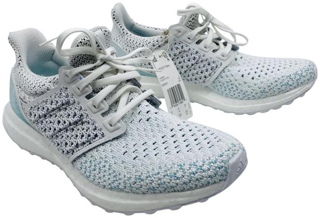 Item - White/Blue Boost X Parley Sneakers Size US 5.5 Regular (M, B)