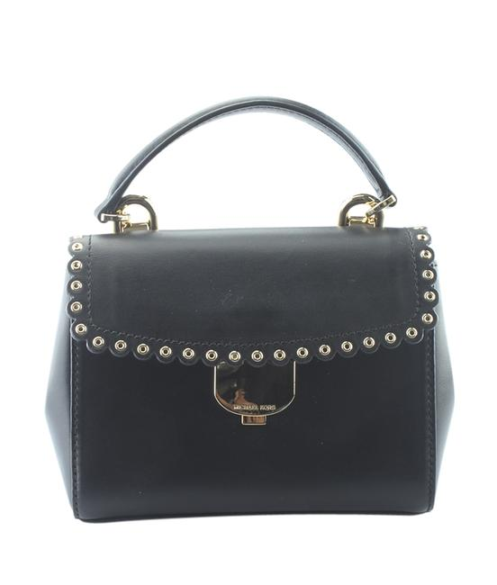 Item - Extra Small (164923) Black Leather Cross Body Bag