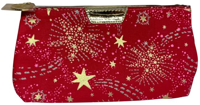 Item - Red Zipper Cosmetic Bag