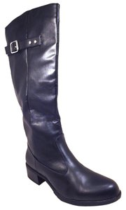 Rampage Riding Knee High Black Boots