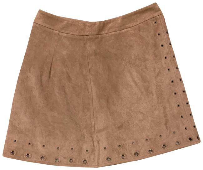 Item - Tan Suede Skirt Size 2 (XS, 26)