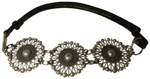 Chico's medallion with adjustable leather