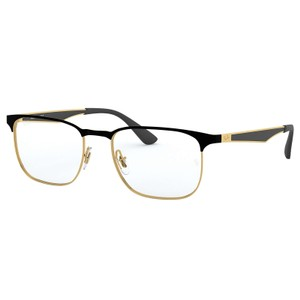Ray-Ban RAY BAN RX6363 2890 BLACK/GOLD AUTHENTIC EYEGLASSES