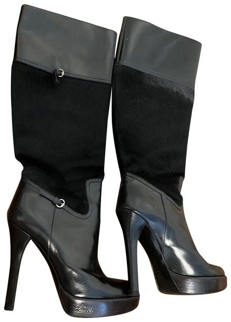 Item - Black 182539 Boots/Booties Size EU 37.5 (Approx. US 7.5) Wide (C, D)