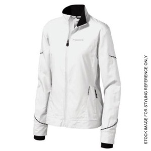 Brooks Infiniti Reflective Running Wind Water Proof Full Zip Funnel Collar